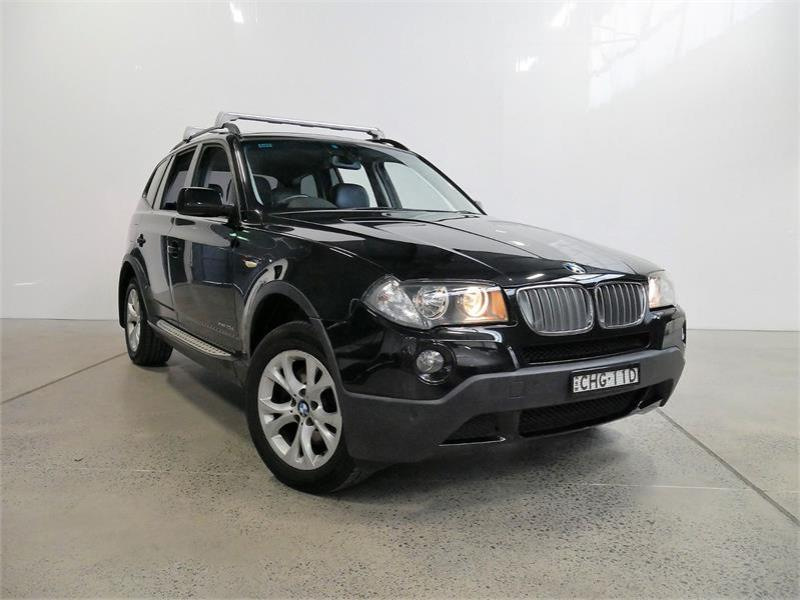 2009 BMW X3 4D WAGON xDRIVE 20d LIFESTYLE E83 MY09