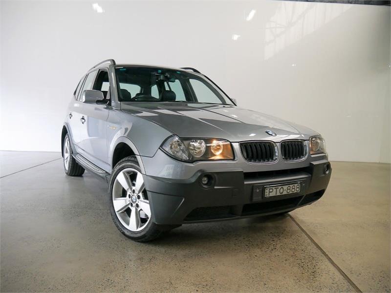 2004 BMW X3 4D WAGON 2.5i E83