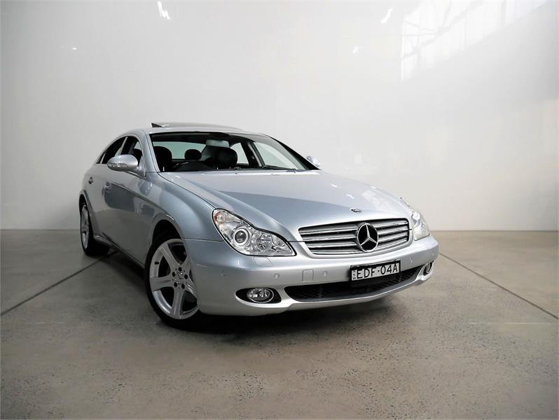 2007 MERCEDES-BENZ CLS 4D COUPE 500 219 07 UPGRADE