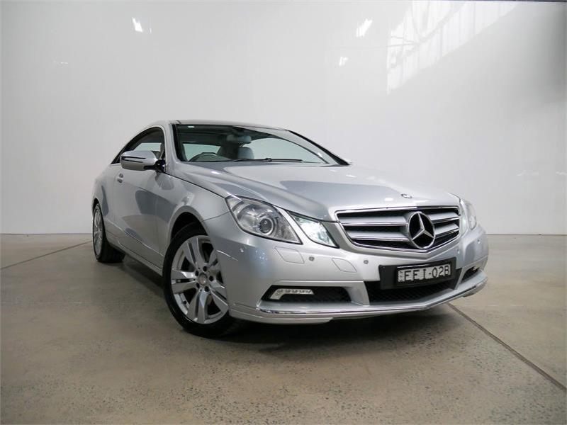 2009 MERCEDES-BENZ E350 2D COUPE ELEGANCE 207