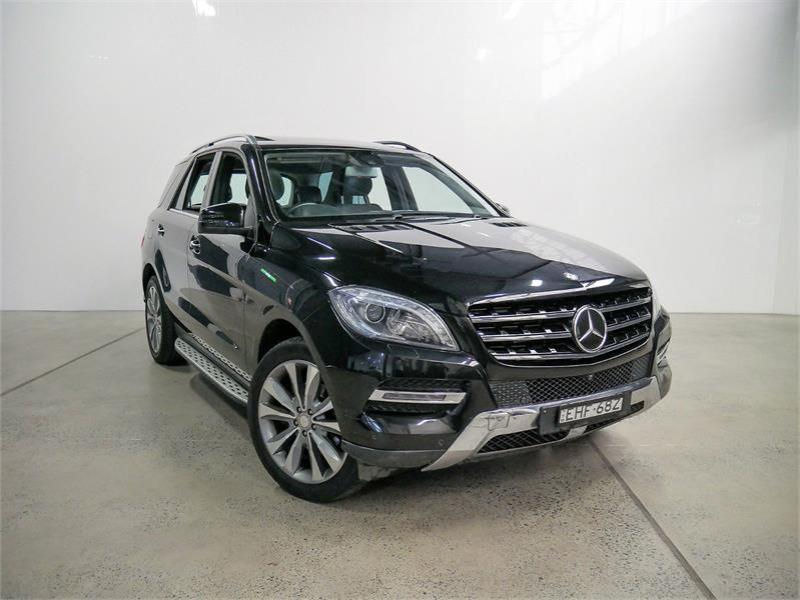 2013 MERCEDES-BENZ ML 4D WAGON 350CDI BLUETEC (4x4) 166